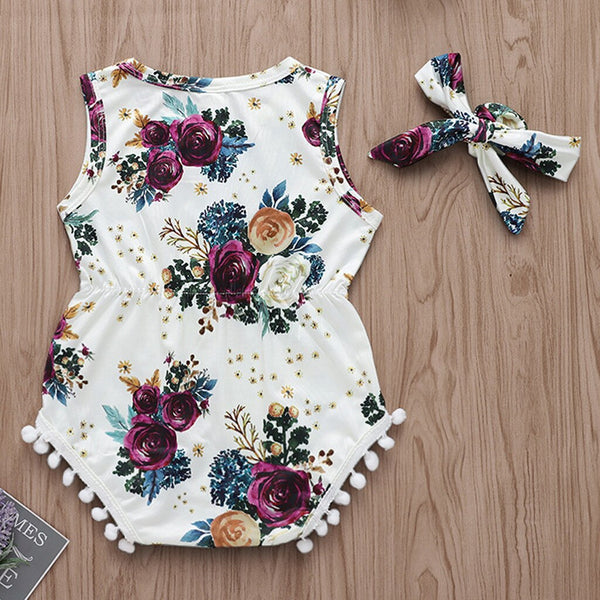 Toddler Newborn Baby Boy Girl Beach Playsuit