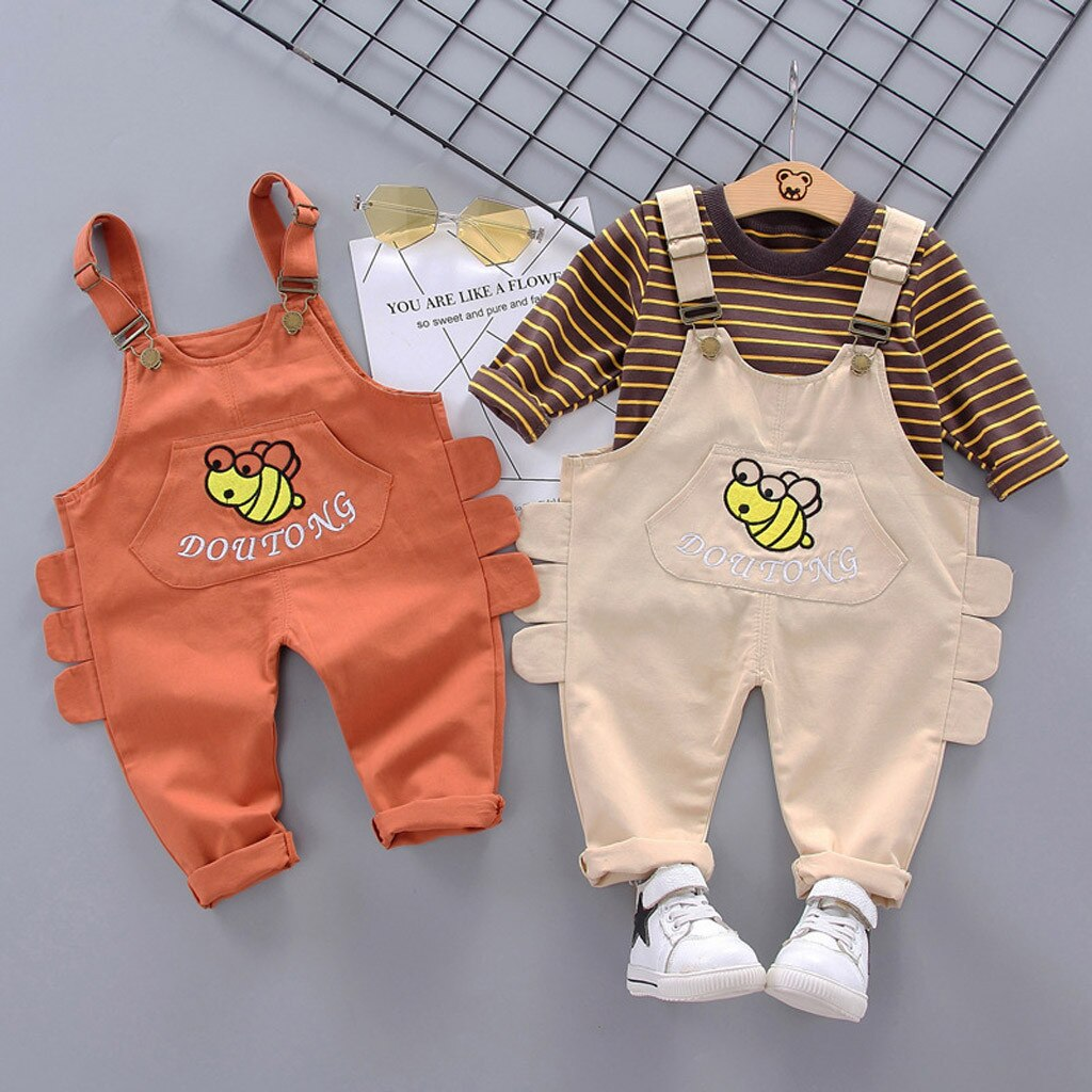 Toddler Newborn Clothes Kids Baby Boy Girl Striped - Be Imperial
