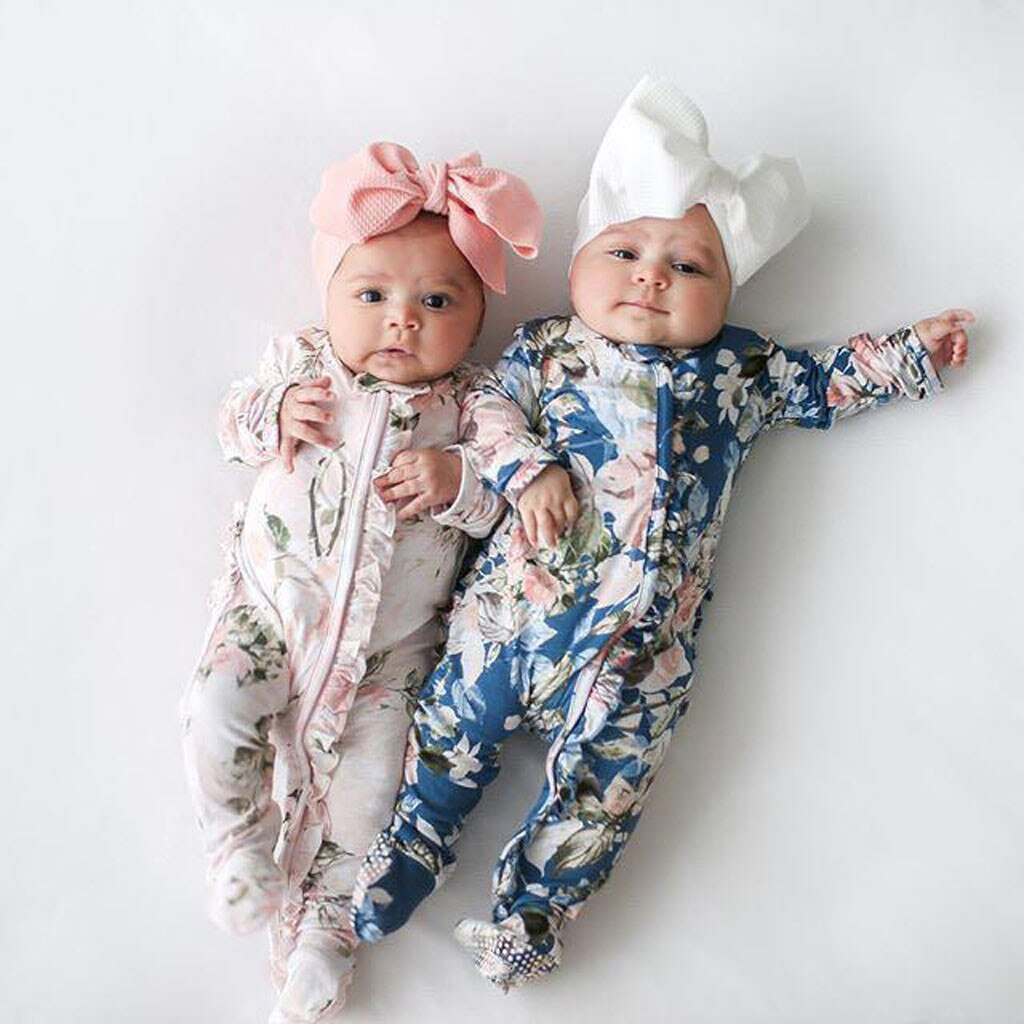 Winter Junmpsuit Newborn Infant Baby Girl Boy