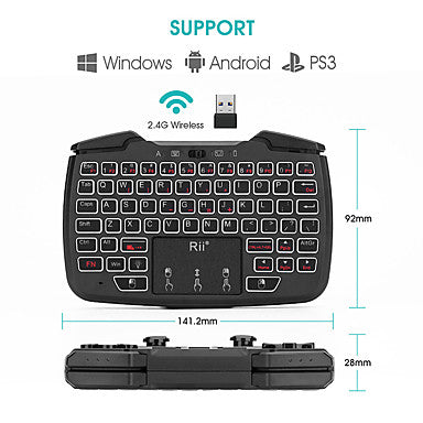 Air Mouse Mini Keyboard