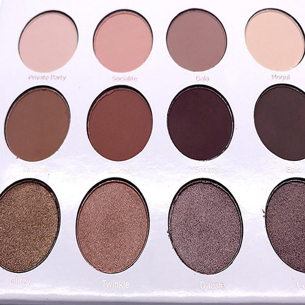 12 Colors  Palette long lasting  Eye-shadow