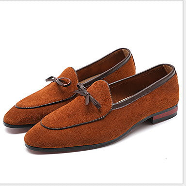 Men's Moccasin Suede Summer Loafers & Slip-Ons