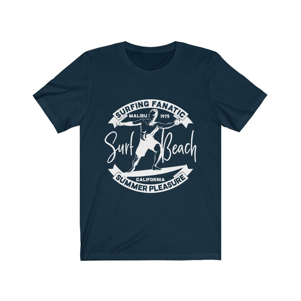 Surfing Fanatic Summer Pleasure Short Sleeve Tee - Be Imperial