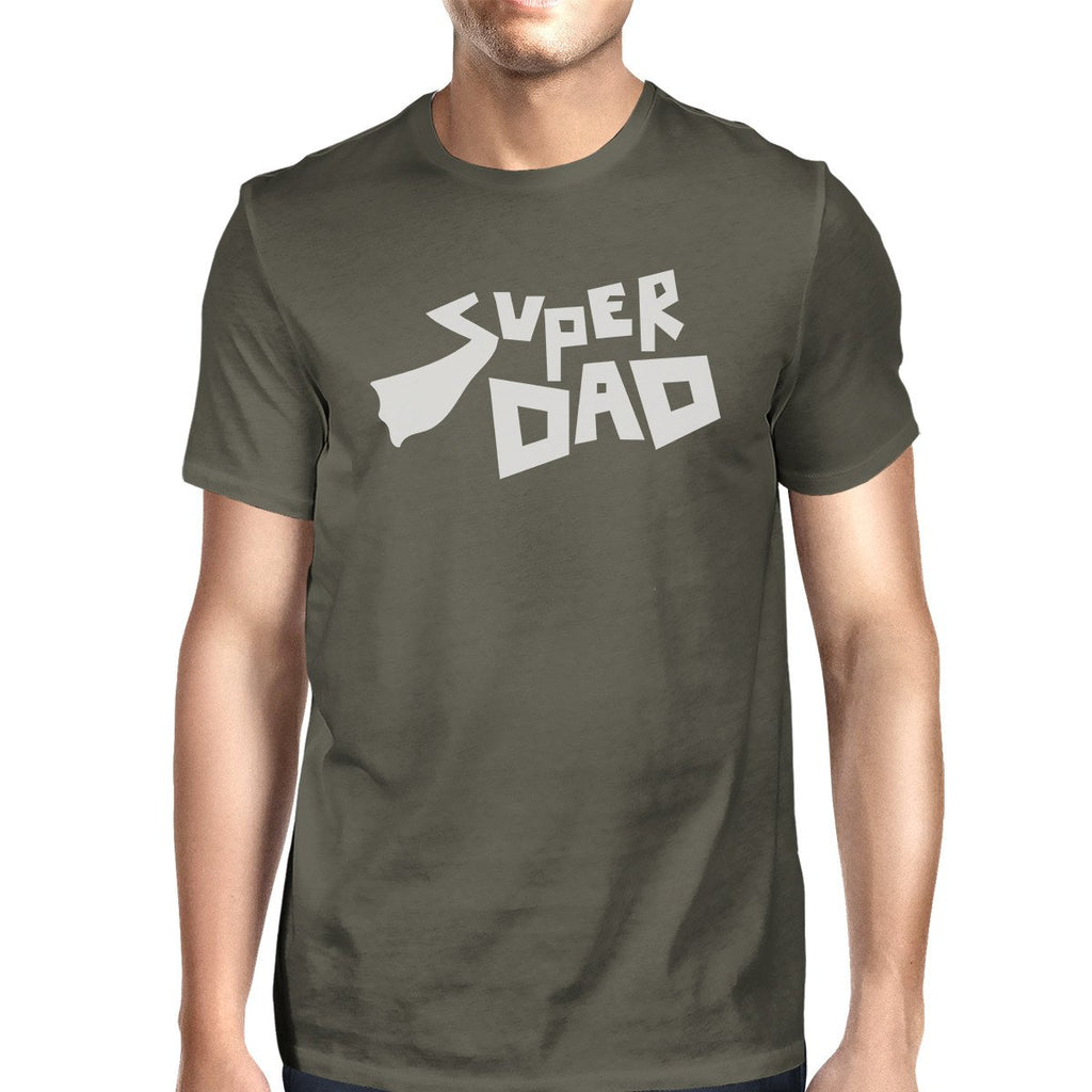 Super Dad Tee Dark Gray T-Shirt For Men Funny - Be Imperial