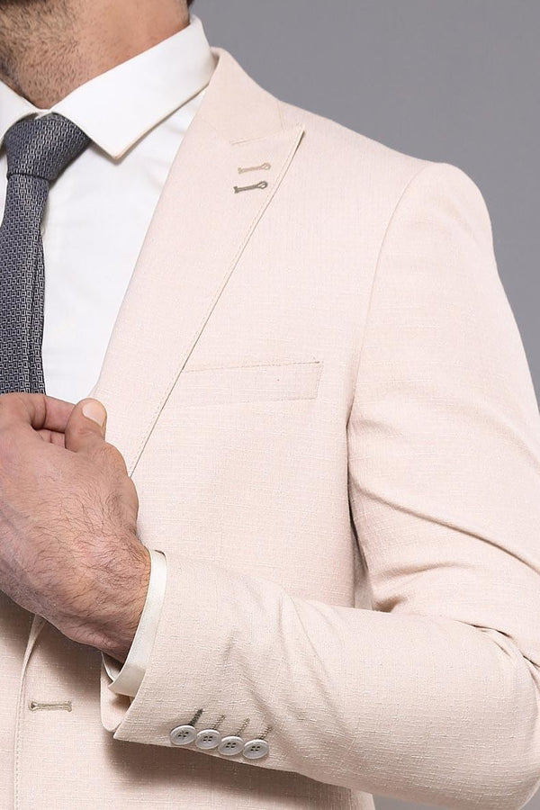Beige Suit for Men