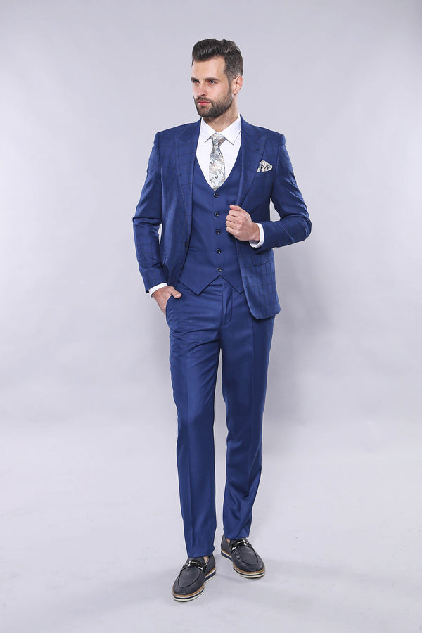 Blue Suit Blazer