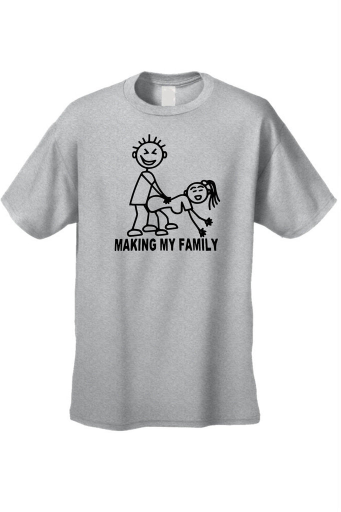 Men's/Unisex Making My Family Short Sleeve T-Shirt - Be Imperial