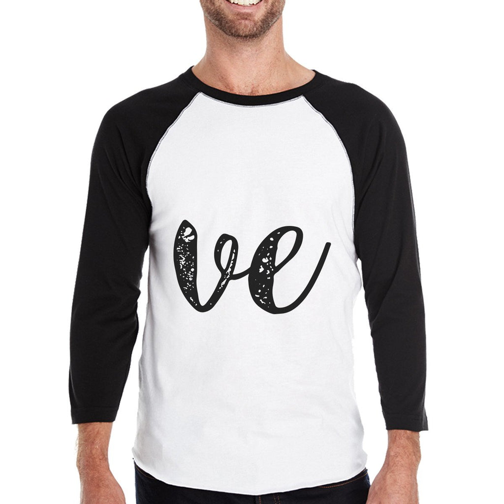 Love Heart Family-Dad Mens Black And White - Be Imperial