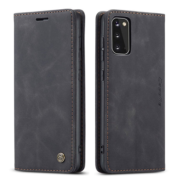 Case Magnetic Flip Wallet  for Samsung Galaxy
