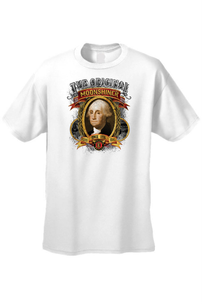 Men's T Shirt Moonshiner Since 1776 George - Be Imperial