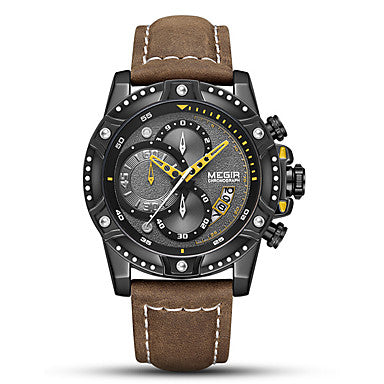 Men's Sport Watch Quartz Sporty Stylish