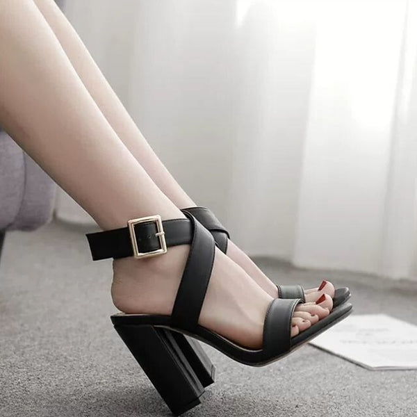 Women's Sandals Chunky Heel