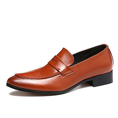 Men's Formal Shoes Faux Leather