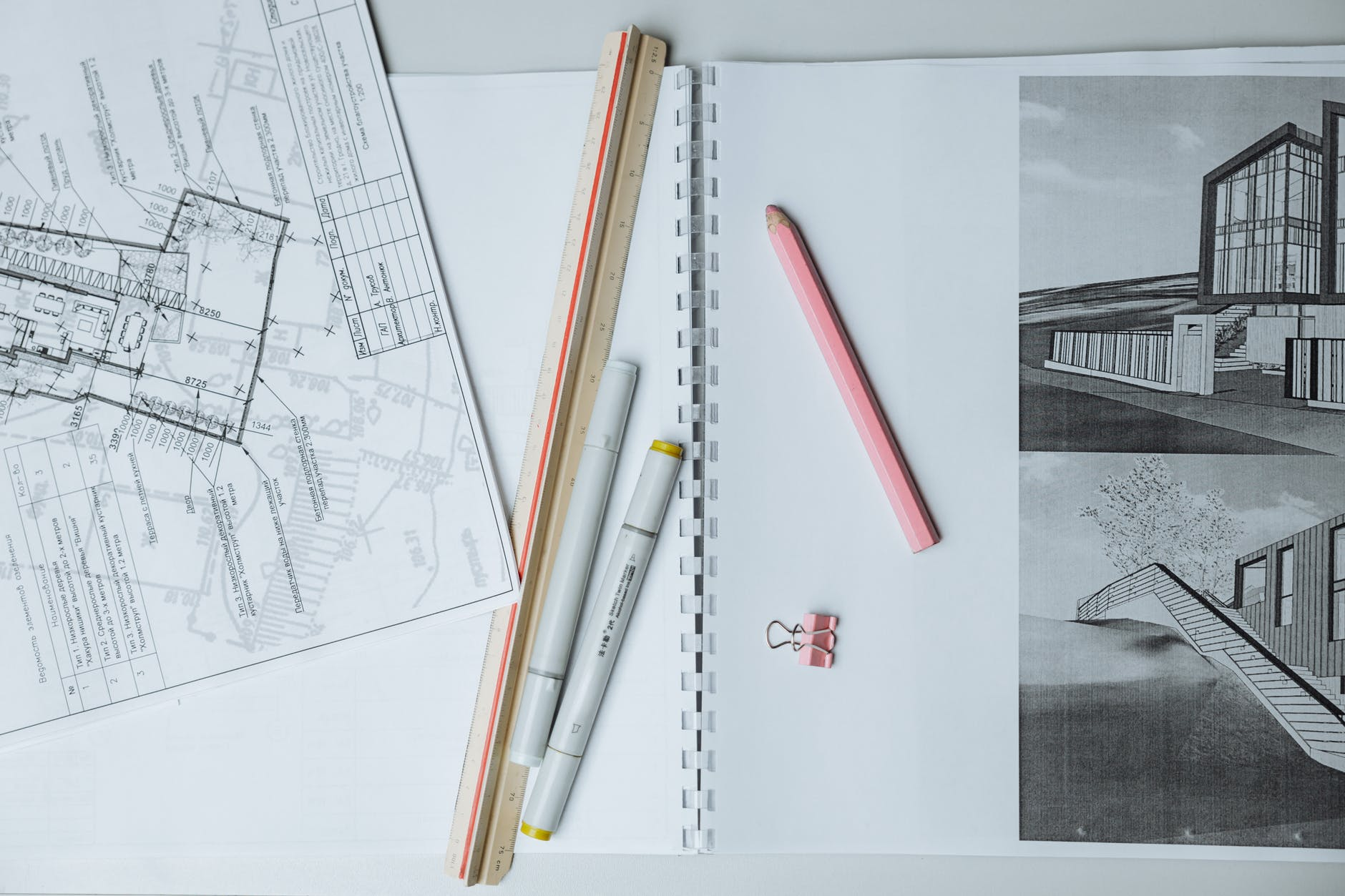 A good design is the first step in building an energy efficient house.