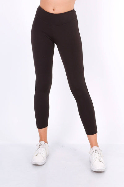 Sylvie Black Leggings - Suburbia Clothing