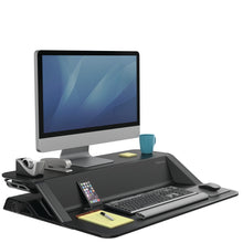 Load image into Gallery viewer, BUY FELLOWES LOTUS Sit Stand Workstation with FREE SHIPPING 7901 black