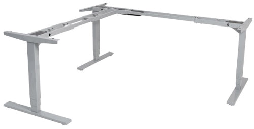 Buy Vertilift 3 Leg Height Adjustable Desk Frame/standing desk/stand up desk with FREE SHIPPING silver frame