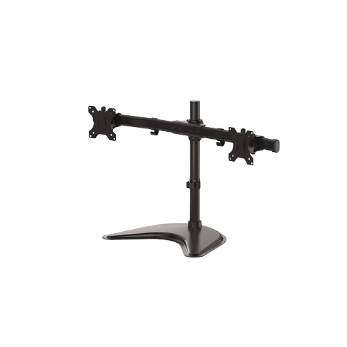 Fellowes® Monitor Arm - Professional Series - Freestanding Mount - Dual Horizontal