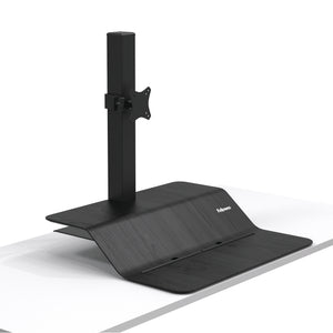 BUY FELLOWES LOTUS VE Sit Stand Workstation Single Monitor FREE SHIPPING. Hight adjustable Desk converter 8080101 black
