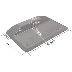 BUY FELLOWES® SIT STAND MAT - ACTIVEFUSION 8707102 with FREE SHIPPING dimensions Affordable and Quality