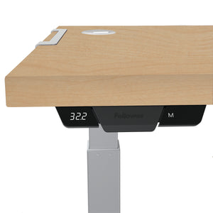 BUY FELOOWES Levado Height Adjustable Desk FREE SHIPPING 8949401. Standing desk/sit stand desk/stand up desk available with table top