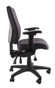 Buy quality Ergoform Ergonomic Office Desk Chair now with FREE SHIPPING charcoal with black base and armrests