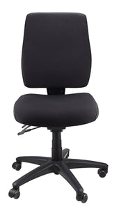 Buy quality Ergoform Ergonomic Office Desk Chair now with FREE SHIPPING black with black base