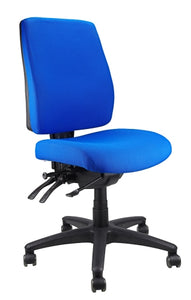 Buy quality Ergoform Ergonomic Office Desk Chair now with FREE SHIPPING blue with black base