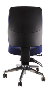 Buy quality Ergoform Ergonomic Office Desk Chair now with FREE SHIPPING navy with polished base