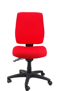 Buy quality Ergoform Ergonomic Office Desk Chair now with FREE SHIPPING red with black base