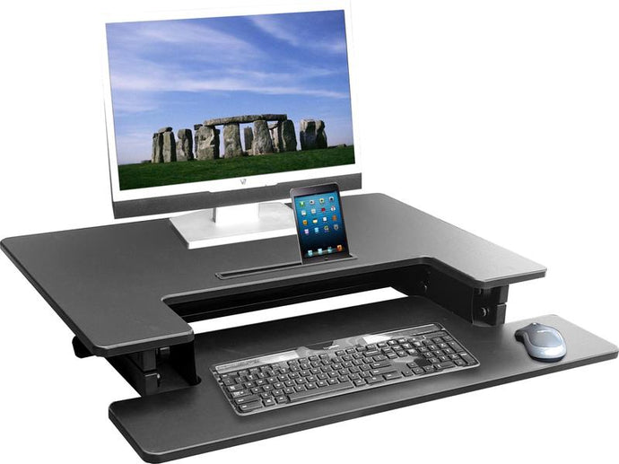 HILIFT Ergonomic Sit Stand Workstation