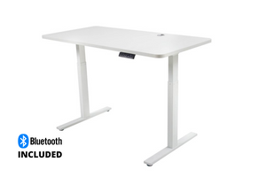 Buy Infinity 2 Stage Leg 2 Motor 4 Memory Electric Height Adjustable Desk Office Desk white, grey or black desk frame with a white or beech melamine desk top with bluetooth. Desks for Backs. Shop online home & office ergonomic furniture and supplies. Standing desks, stand up desk, office workstation, office furniture, sit & stand desks. Office Portfolio. Bluetooth Included