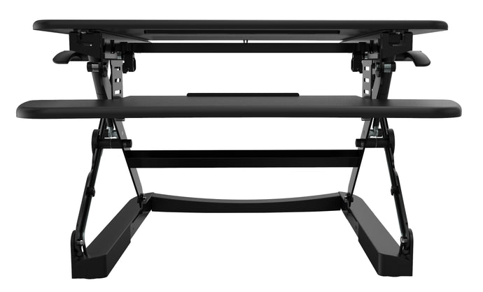 Buy Rapidline Rapid Riser - Small or Medium RR1 RR2 FREE SHIPPING desk converter, desk riser, height adjustable black