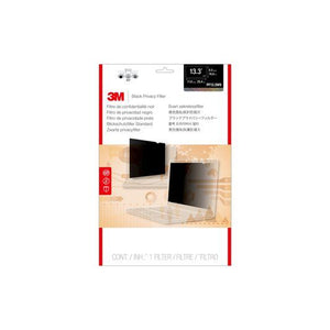 "BUY 3M  PF133W9B Black Privacy Filter 13.3"" FREE SHIPPING"