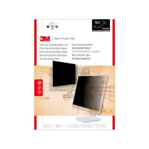 "BUY 3M  PF195W9B Black Privacy Filter 19.5"" Widescreen FREE SHIPPING"