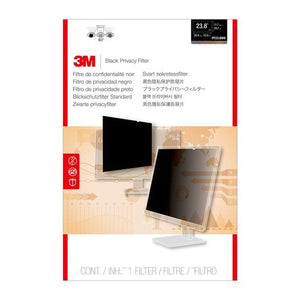 "BUY 3M PF238W9 Black Privacy Filter 23.8"" Widescreen FREE SHIPPING"