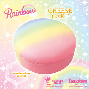 Cheesecake rainbow