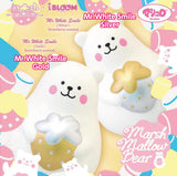Marshmallow Bear Mr White Smile (Gold & Silver)