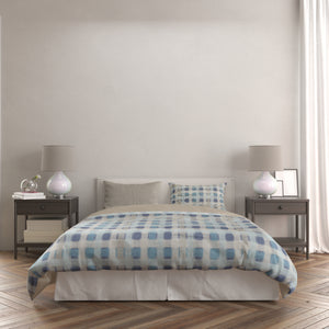 Checkered Duvet Set