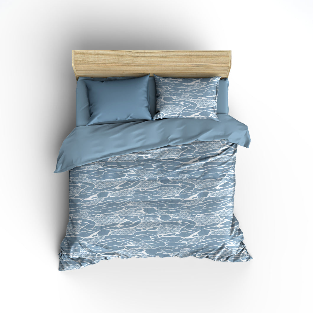 Sea Blue Fitted Sheet