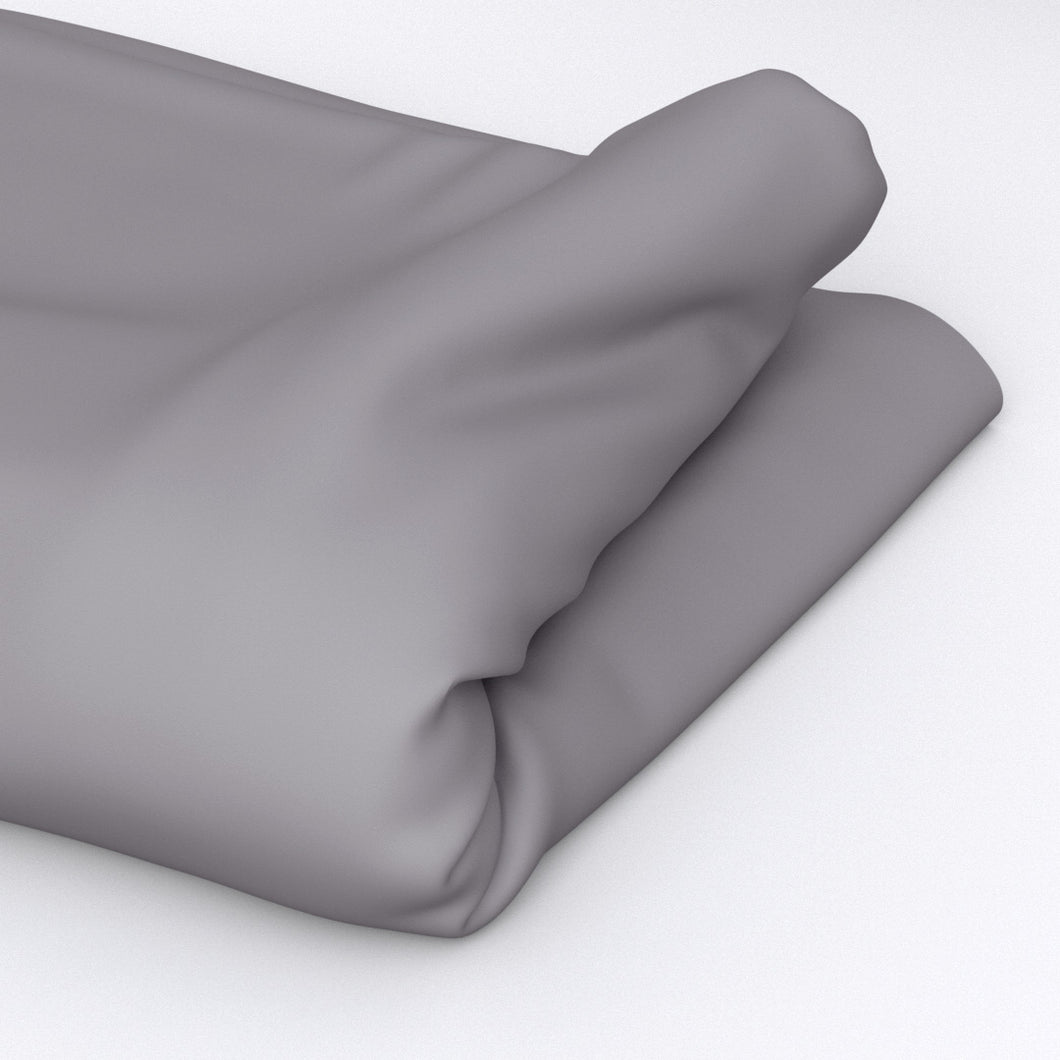 Dark Grey Fitted Sheet- 400 Thread count
