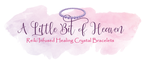 A Little Bit of Heaven Healing Crystal Bracelets