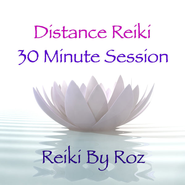 Distance Reiki Session - 1/2 hour