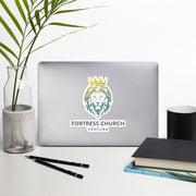 Fortress Lion Sticker (Full color)