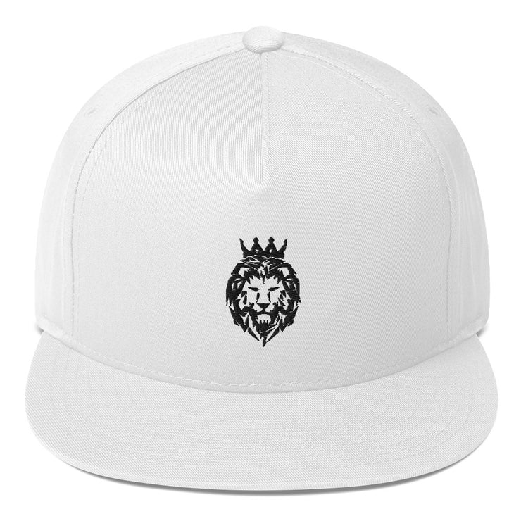 Flat Bill Cap (Lion/Black)