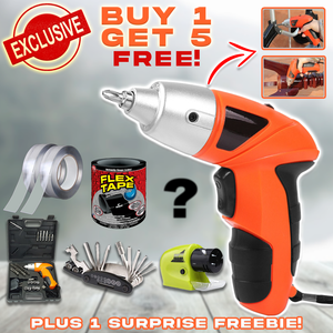 45 in 1 Multi-purpose Cordless Drill ( Buy 1 Get 5 Free)