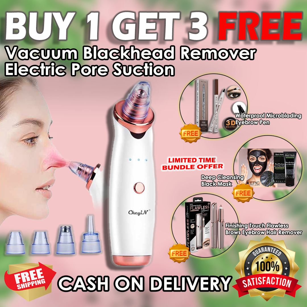 Buy 1 Pore Vacuum And Get 3 Freebies!