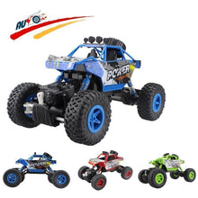 Load image into Gallery viewer, Shoptmize Remote Control Vehicle Blue Rock Crawler™ Monster Truck  Off-Road  Remote Control Vehicle