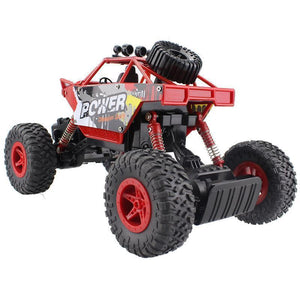 Shoptmize Remote Control Vehicle Red Rock Crawler™ Monster Truck  Off-Road  Remote Control Vehicle