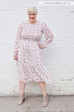 The Grace Smocked Midi